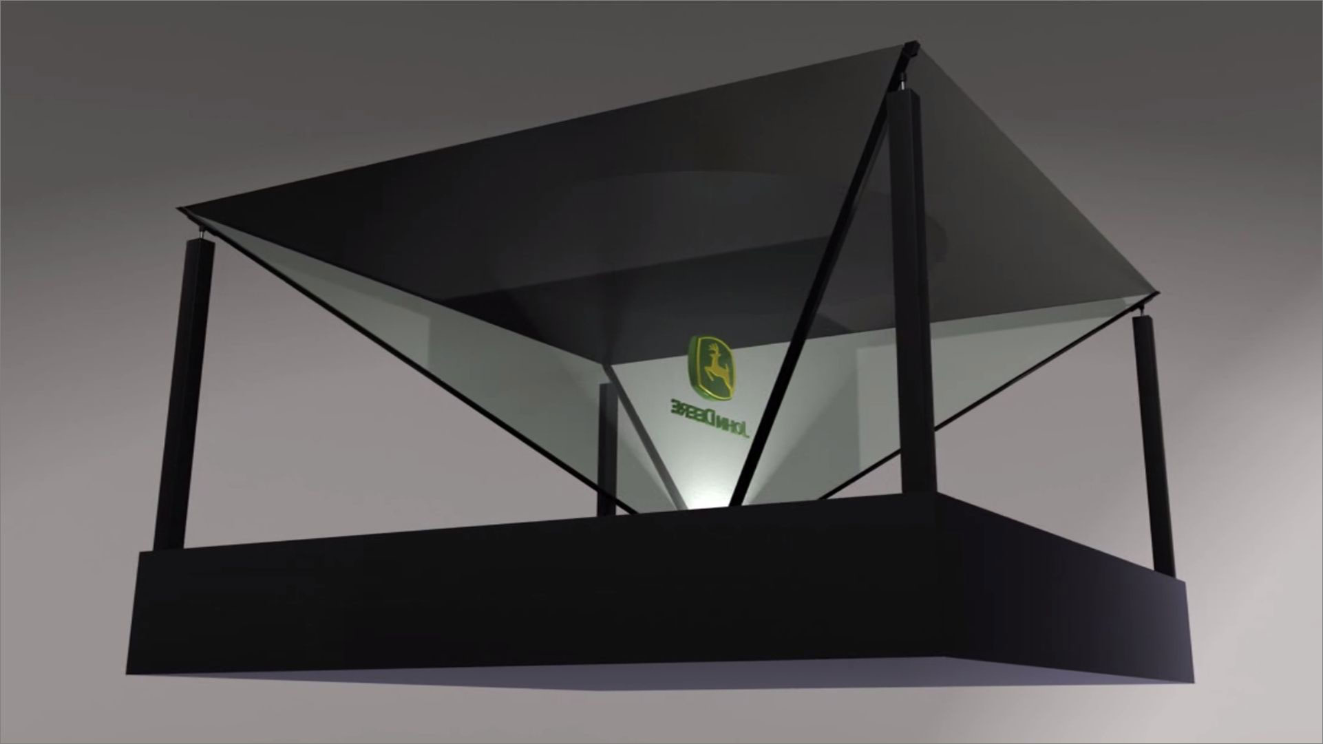 نمایشگر باکس چهار وجهی