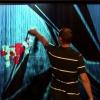 نمایشگر بخار نمایش تصویر روی هوا با قابلیت لمسی و کیفیت FULL HD