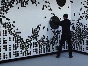 دیوار هوشمند لمسی