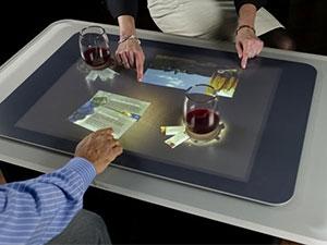 میز لمسی هوشمند VIP مناسب رستورانها، مراکز آموزشی و تفریحی، مهندسین و طراحان و ...