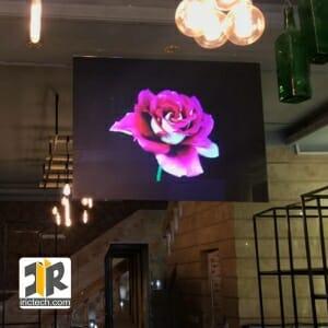 نمایشگر ویدئو وال بدون درز تاچ ضد ضربه قابل سفارش در ابعاد و اشکال مختلف