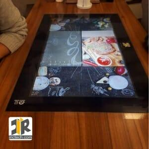 رستوران هوشمند و رباتیک، طراحی و تجهیز رستوران و فست فود با میز و کیوسک لمسی