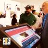 تجهیزات نمایشگاهی شرکت برای هفته نامه دنیای هوادار