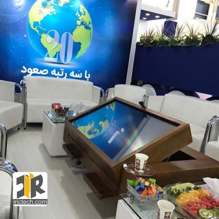 میز لمسی هوشمند vip با قابلیت تغییر زاویه و پردازنده قوی
