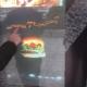 ویترین هوشمند فست فود پلاک (کیوسک سفارش غذا)