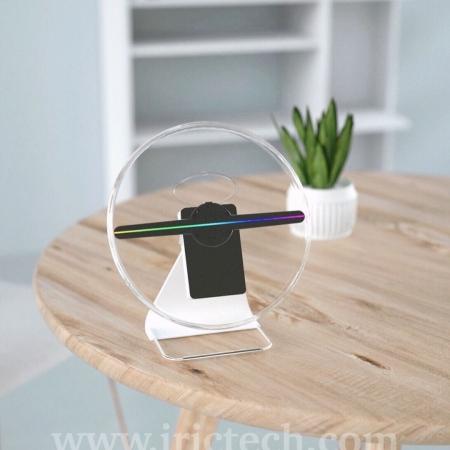 نمایشگر هولوگرافی با تکنولوژی led fan holography